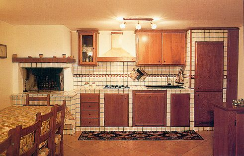 Cucine in muratura, rustiche e moderne.  ColoriVernici.it