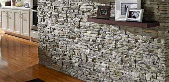 Pannelli in finta pietra - Piastrelle effetto roccia ...