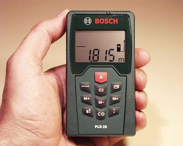 misuratore laser bosch