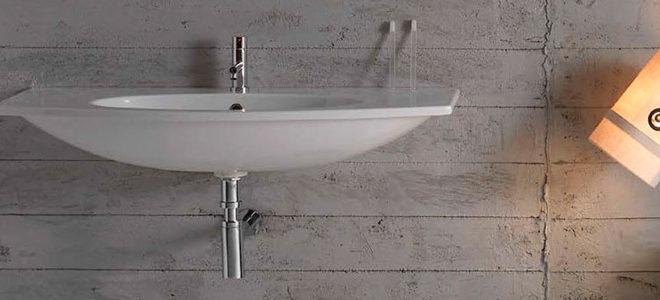 Lavabi per il bagno sospesi basta colonnine for Colonnine bagno