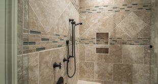 doccia in muratura