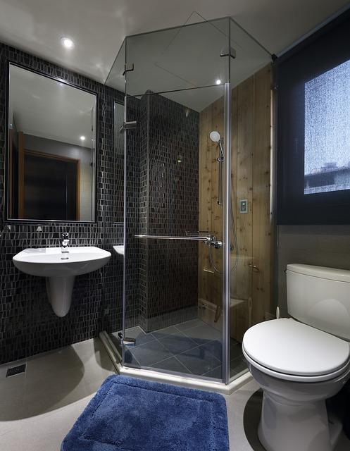 doccia in muratura di design